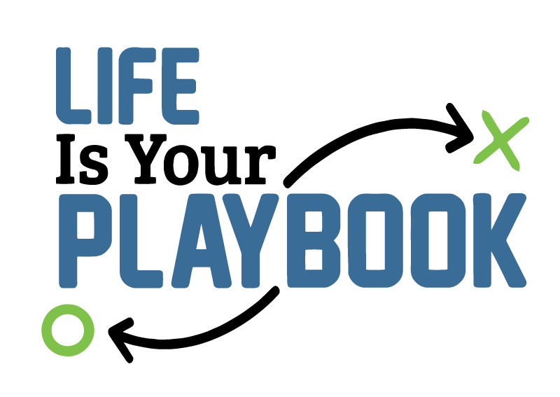 Logo Life Is Your Playbook