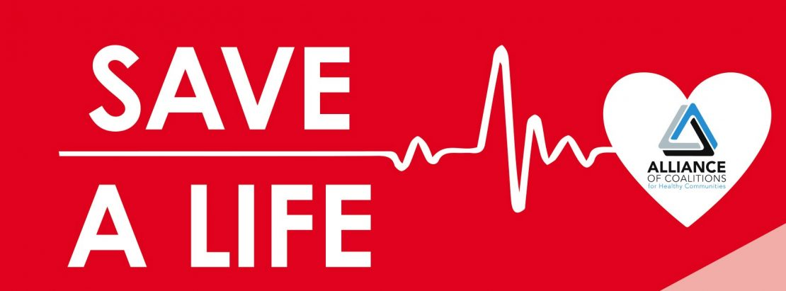 Allianc of Coalitions Save A Life Program Logo
